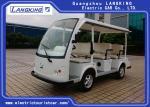 48V DC Motor Mini Electric Tourist Car 8 Seats Loading 640KGS Light Weight