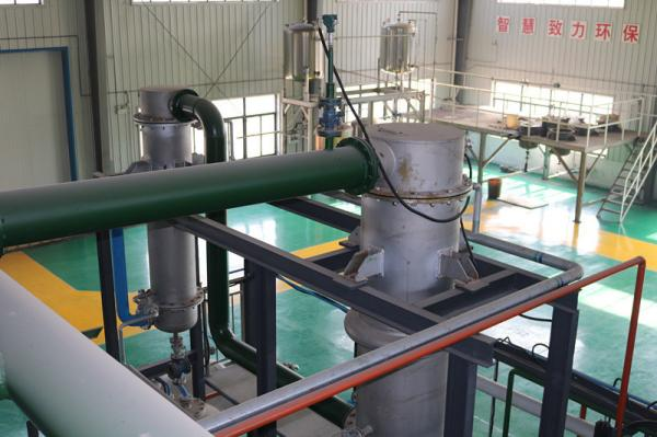 Normal Pressure Waste Plastic Pyrolysis Machine Mini