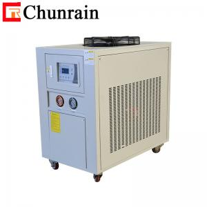 China Scroll Type Air Cooled Water Chiller , 10HP Refrigerated Air Conditioning Unit on sale
