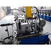 Solar Strut Channel Cold Roll Forming Machine With Servo Feeding Device & Press Punching Machine