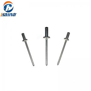 China DIN7337 Flat Head Closed End Stainless Steel Aluminum Blind Rivets on sale