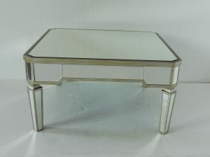 China Hotel Lobby Mirrored Coffee Table Different Color Optional 31.5 Inch on sale