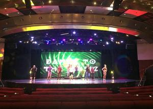 China High Definition Indoor Rental Led Display P5 Concert Stage Backdrop / Events Applied on sale