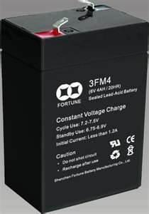 China small size rechargeable sealed lead acid batteries 3FM4.2(6V 4.2AH/20HR)  on sale