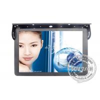 "Real Color 18.5"" Stereo Lcd Bus Tv Advertising Screen 500cd / M2 Brightness"