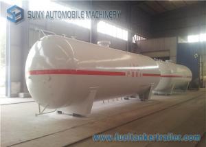 China Round / Ellipse Safety LPG Tank Trailer , 50000 Liters LPG Propane Gas Storage Tank on sale