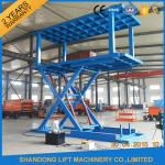 Hydraulic Personnel Lifts Automated Double Deck Car Parking System High Lifting Speed