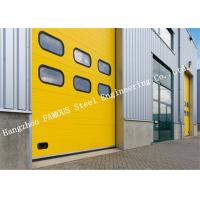 Intelligent Automatic PVC Surface Treatment High Speed Steel Roller Shutter Door For Storage Room