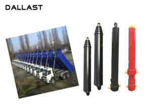 China Multi Stage Single Acting Hydraulic Cylinder Lifting Long Stroke for Dump Trailer supplier