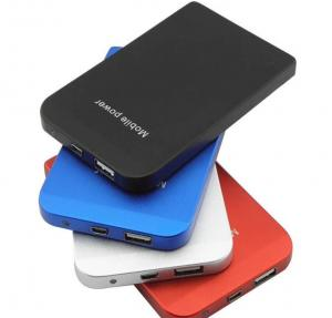 China 3500mAh For iphone and cell phone battery power bank blue,silver,black,red standard usb on sale