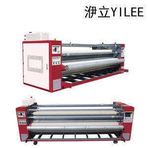 China professional 3200MM 3d  dye sublimation heat press transfer curtain wall cloth products printing machine roland France on sale