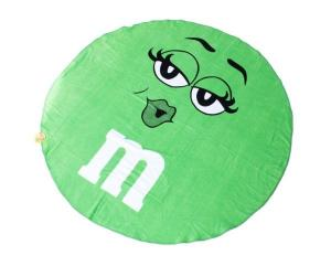 China Round Circle Beach Towel 100% cotton yarn dyed and front side reactive print Beach towel on sale