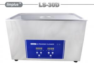 China 40 kHz digital heated ultrasonic cleaning bath For Mechanical Electronic Components on sale