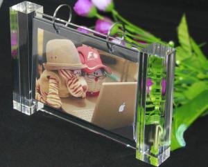 China acrylic desktop photo picture frame on sale
