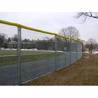 Heavily galvanized chain link fence with 610g zinc coating