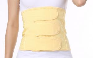 China Yellow Postpartum Belly Belt Prevent Visceral Ptosis Help Body Function Restored on sale