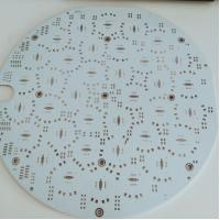 China 2 Layer Aluminium PCB Board 94v-0 Led PCB Circuit Board OEM Service on sale