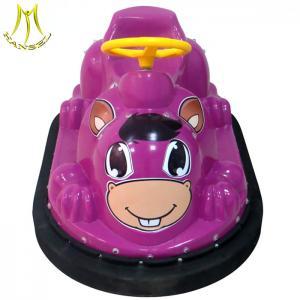 China Hansel import china amusement park indoor playground kids plastic bumper car on sale