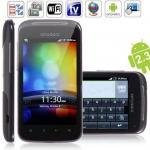 Открытый телефон андроида 2,3 ХД3 МТК6513 600МХЗ умный с ТВ ГПС Блуэтоотх ВИФИ