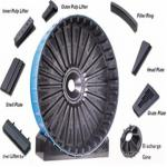 Ore Mining Ball Mill Rubber Lining Castings And Forgings
