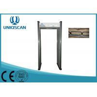 Door Frame Walk Through Metal Detector 6 Zones For Public Security Inspection