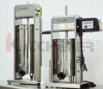 7 LB/3 L Manual Sausage Stuffer 2 Speed Stainless Steel Vertical 5-7 Lb Sausage Maker