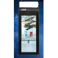 46 inch Interactive LCD Screen Glass Door Refrigerator For Chocolate , Juice , Yogurt