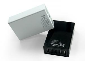 China 50HZ / 60 HZ High Power Multi Port USB Charger , Multiple USB Charger With 1.2m Cable on sale