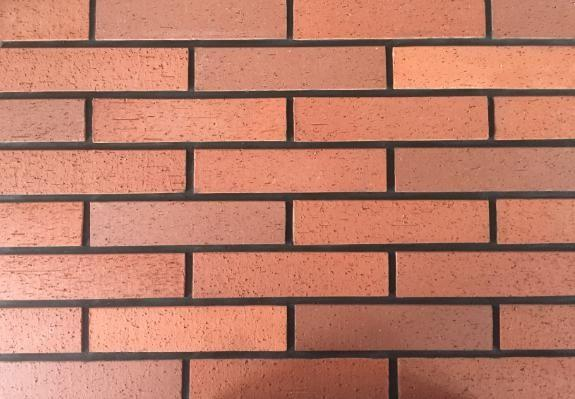 Customized Red wire cut Split Face Brick for Exterior Wall ...