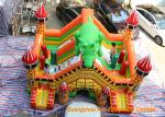 China Indoor Trampoline Inflatable Dinosaur Bouncy Castle 6 * 5 * 5m Or Customized wholesale