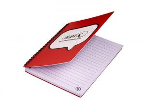 China Promotional Cute Spiral Bound Notebook Custom Logo Double Wire Notebook on sale