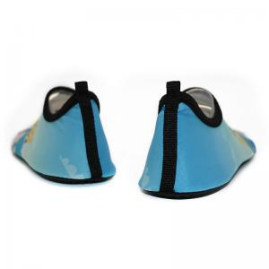 Quality Anti Skid Mens Beach Water Shoes For Aqua Aerobics Lycra Daddy Girl Pattern for sale