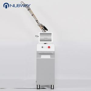 China 1064 nm / 532nm q switched nd yag laser nubway for tattoo removal machine on sale