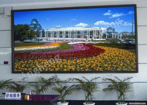 China P4 Small Full Color LED Display 1R1G1B Pixel Configuration 97% Uniformity on sale