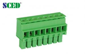China Plug  Female Sockets  Plug - in Terminal Block   Pitch 3.50mm  300V 8A  2P - 22P on sale