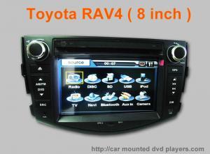 China Dans le joueur stéréo de Wifi DVD TV Bluetooth de voiture de tiret avec la navigation, écart-type, TV pour Toyota RAV4 on sale