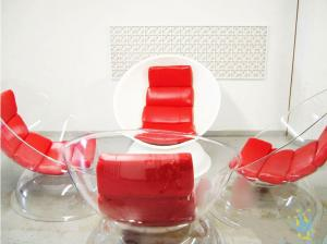 China clear acrylic modern furniture on sale