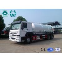 12 Cbm 6X4 Manual Diesel Sewage Pump Truck , Sewage Vacuum Truck