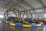 China Big Sealing Material Long Inflatable Race Track For Outdoor Karting Games Interesting inflatable sport games wholesale