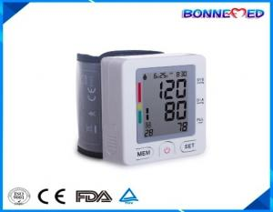 China BM-1302 FDA Approved Bluetooth Digital Wrist Blood Pressure Monitor Heart Beat with Free APP for IOS and Android phones on sale