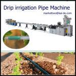 Machine ronde de tuyau d'irrigation par égouttement avec le plus bas prix, vitesse courante stable, facile au perate