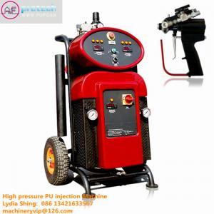 China Portable High Pressure Polyurethane PU Spray Machine, PU Perfusion Equipment on sale
