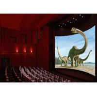 China High Definition Projector Dynamic 4D Cinema Equipment With Back poking / Air Injection on sale