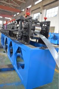 China 速度を形作る機械 10m15m を形作るロール 4 つの kw の水力の切断の屋根のパネル フレーム on sale