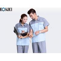 Uniforms Workwear Coverall / Custom Work Uniform Notch Lapel Collar For Adults