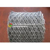 China Lightweight Flattened Expanded Metal Mesh?Low Carbon Steel Hot Dipped Galvanized on sale