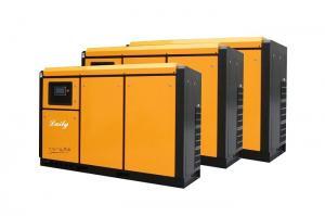 China Orange Single Stage Screw Compressor , Permanent Magnet Screw Compressor on sale
