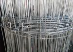 Hot Dipped Galvanized Woven Field Fence Steel Wire With 2.0 mm Diameter