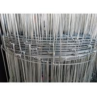 Hot Dipped Galvanized Woven Field Fence With 2 . 0 mm Wire Diameter