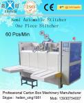 China Cartonneuse semi-automatique d'agrafeuse avec piquer simple/double wholesale